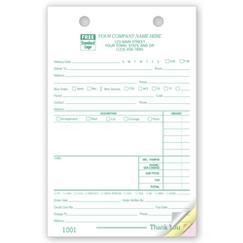 Florist Register Forms - Large