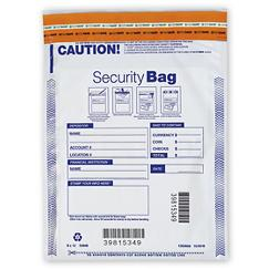 Deposit Bag - Opaque Single Pocket Deposit Bag 9 x 12