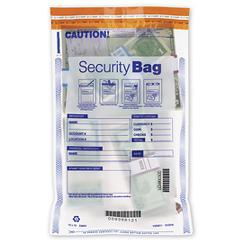 All Clear Single Pocket Deposit Bag 11 x 15
