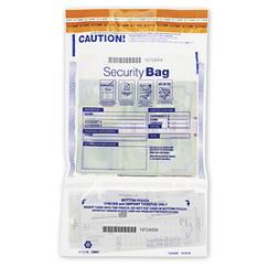All Clear Dual Pocket Deposit Bag 9 1/2 x 15