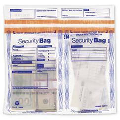 Side x Side Dual Pocket Deposit Bag 11 x 13