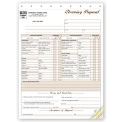 Cleaning Service Proposal with Checklist, 5521