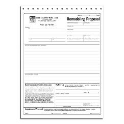Remodeling Proposals