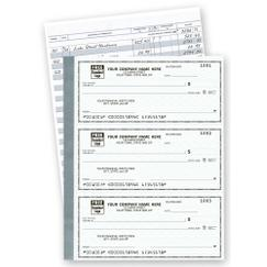 The Secretary Deskbook, 3 On Page -  Compact Size Checks