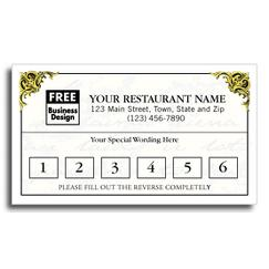Frequent Diner Card, Vienna