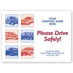 Auto Floor Mat, Please Drive Safely!