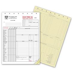 Electrical Work Orders - with Checklist, 6520