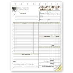 Cleaning Company Contract - Work Orders