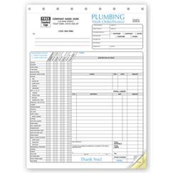 Plumbing Invoice - Invoice with Checklist, 6540