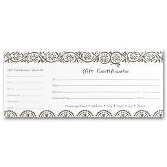 Gift Certificates, Darjeeling