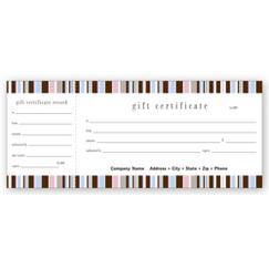 Kate Stripe Gift Certificate