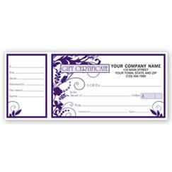 Gift Certificates, Wisteria