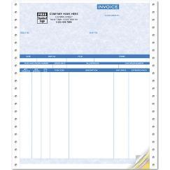 Invoices, Continuous, Parchment