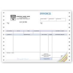Invoices, Continuous, Image
