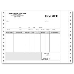 Continuous Inventory Invoice
