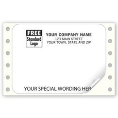 Mailing Labels, Continuous, White