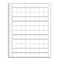 Pricing Labels, Continuous, 9 Carrier, Stock/Blank