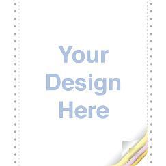 Custom Continuous Form 9.5 x 11