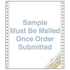 Custom Continuous Form 9.5 x 8.5