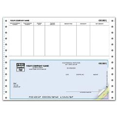Continuous Bottom Accounts Payable Check