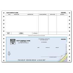 Continuous Bottom Accounts Payable Check
