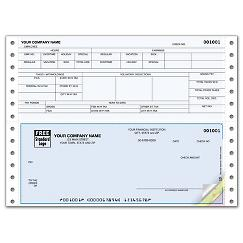 Continuous Bottom Payroll Check