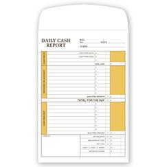 Daily Cash Report Envelope, DCRE01