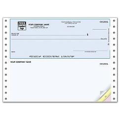 Continuous Top Checks, QuickBooks Compatible, Lined