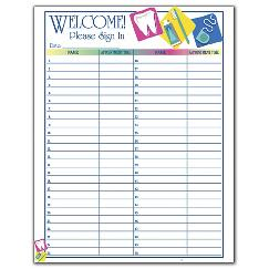 Patient Sign-In Sheet, DENF02