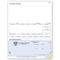 Laser Checks, Payroll, Compatible with DacEasy, DLB330
