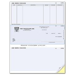 Laser Middle Accounts Payable Check