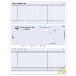 Laser Middle Checks, Accounts Payable, Sage Compatible, DLM275