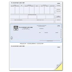 Laser Payroll Check, Compatible with Timberline