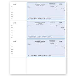 Laser Wallet Checks, QuickBooks Compatible, Unlined, DLW001