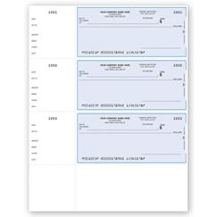 Laser Wallet Checks, QuickBooks Compatible, Lined
