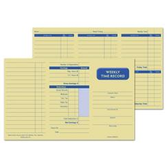 Pocket Size Weekly Time Cards, GEN0220