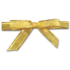 Holiday Card Accessories Gold Ribbons