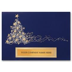 Business Christmas Cards - Dazzling