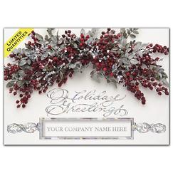 Vibrant Swag Business Holiday Card