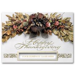 Thanksgiving Card - Abundance