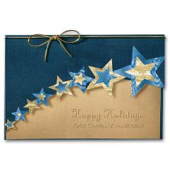 New Years Card -  Swanky Stars
