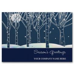 Serene Night Holiday Card