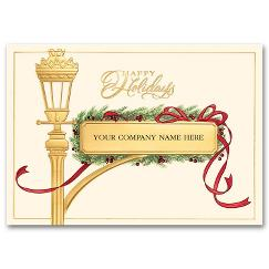 Holiday Cards Gilded Streetpost