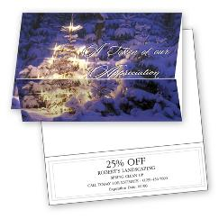 Business Holiday Cards - Glow of Appreciation