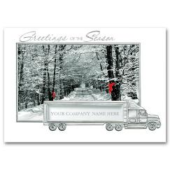 Business Holiday Cards - Welcoming Road