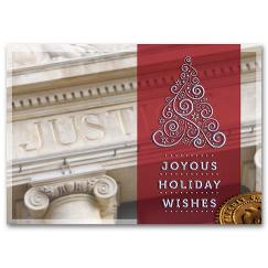 Classic Appeal Attorney Holiday Card