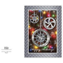 Wheel Art Automotive Holiday Card