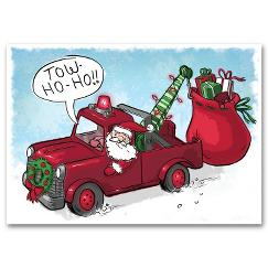Tow-Ho-Ho Automotive Holiday Card
