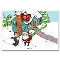 Fender Bender Insurance Holiday Card