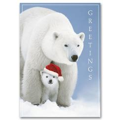 Santa Cub Holiday Card